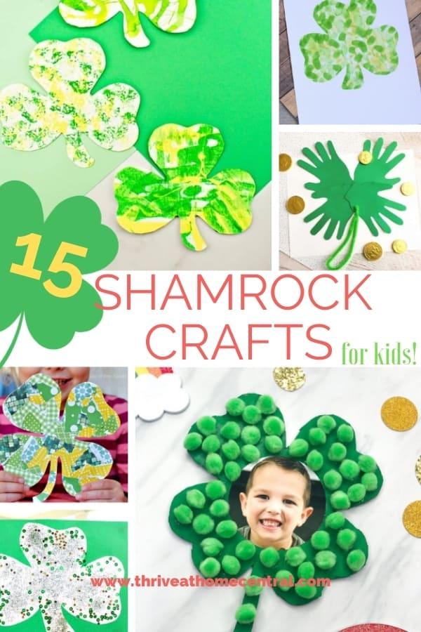 15 Shamrock Crafts for Kids