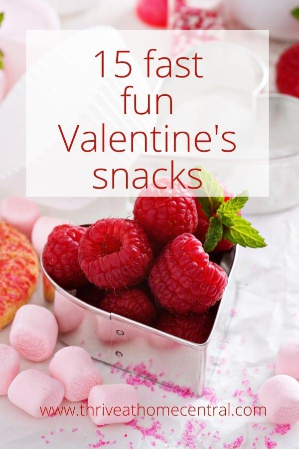 Fast Fun Valentines Snacks